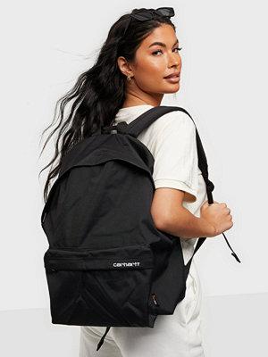 Carhartt WIP svart väska Payton Backpack