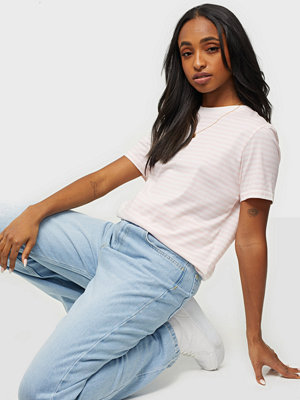 Selected Femme SLFMY PERFECT SS TEE BOX CUT-STRI B