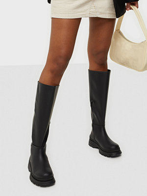 Boots & kängor - Selected Femme SLFLUCY LEATHER HIGH SHAFTED BOOT B