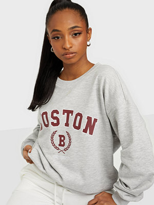 Tröjor - Only ONLSTACY L/S COLLEGE SWEAT SWT
