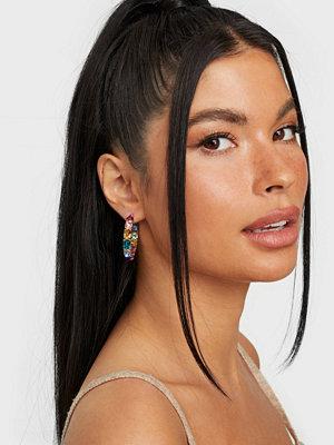 Pieces smycke PCFLORA HOOP EARRINGS D2D
