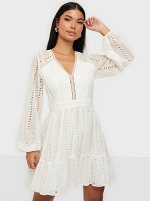 Forever New Lace Splice Dress