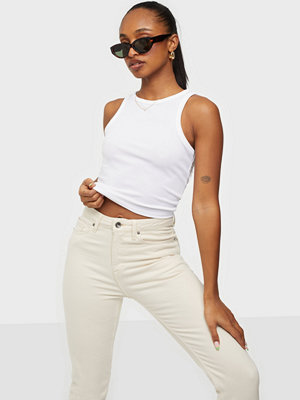 Missguided Ribbed Sleeveless Crop Top