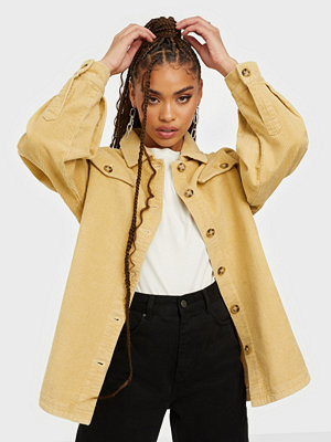 Missguided Jumbo Cord Shacket