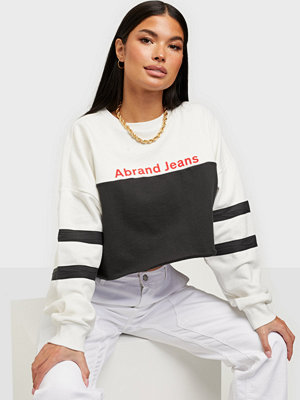 Abrand Jeans A OVERSIZED CROP SWE