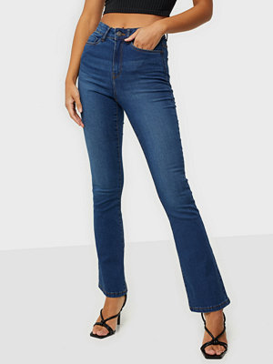 Noisy May NMSALLIE HW FLARE JEANS VI021MB NOO