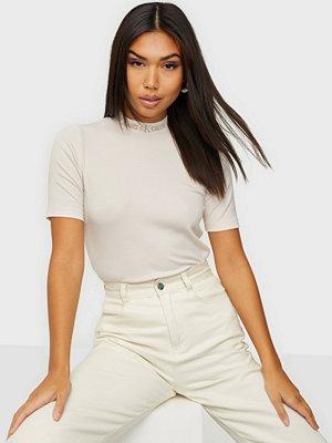 Calvin Klein Jeans LOGO TRIM RIB TEE