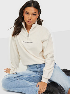 Calvin Klein Jeans POLAR FLEECE HALF ZIP SWEATSHIRT