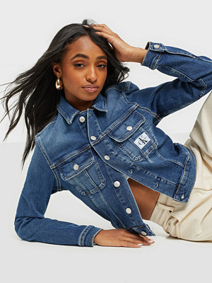 Calvin Klein Jeans CROPPED 90'S DENIM JACKET