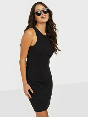 Calvin Klein Jeans LOGO TRIM RACER BACK DRESS