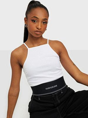 Calvin Klein Jeans MILANO SQUARE NECK STRAPPY TOP