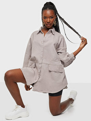 Missguided Oversized Pocket Shirt