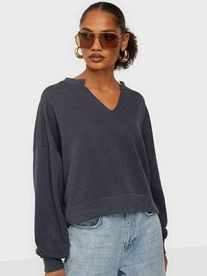 Missguided V Front Oversized Sweat