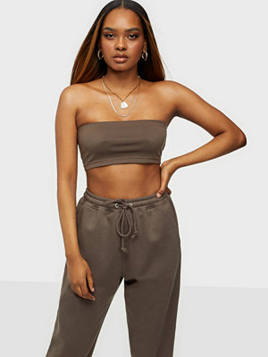 Missguided Bandeau Top & Jogger Set