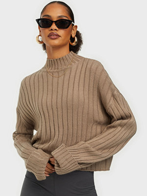 NLY Trend Cropped Turtle Neck Knit