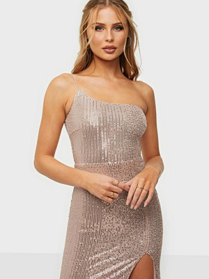 NLY Eve One Shoulder Sequin Gown