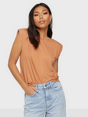 Y.a.s YASELLE SS PADDED SHOULDER TOP S.