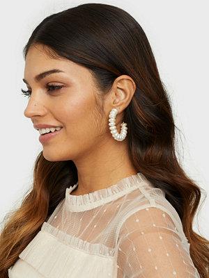 Pieces smycke PCLE HOOP EARRINGS SWW