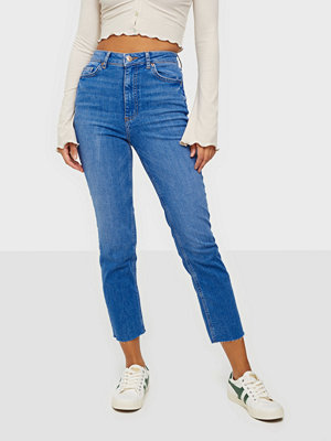 Jeans - Pieces PCDELLY HW STRAIGHT ELECTRIC BLUE B
