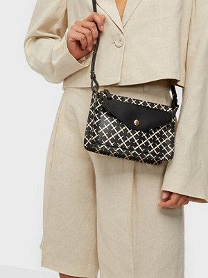 By Malene Birger svart mönstrad väska ELSIE BAG