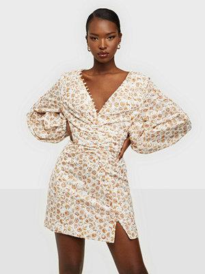 Bardot Printed Broderie Dress