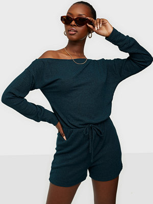 Ax Paris Long Sleeve Playsuit