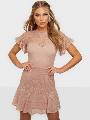NLY Trend Flounce Lace Dress