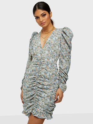 Only ONLKENDALL L/S ROUCHING DRESS WVN