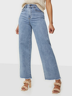 Jeans - Object Collectors Item OBJSAVANNAH HW WIDE LEGGED JEANS RE