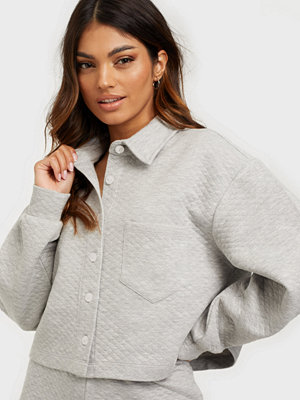 NLY Trend Button Up Sweat