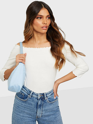 Only ONLNAROMA 3/4 OFF SHOULDER TOP BOX