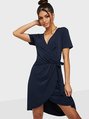Vila VINAYELI S/S KNEE WRAP DRESS/SU