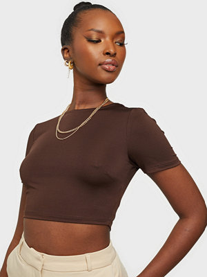 NLY Trend Perfect High Neck Crop Top