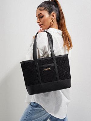 Love Moschino väska Love Moschino Embroidery