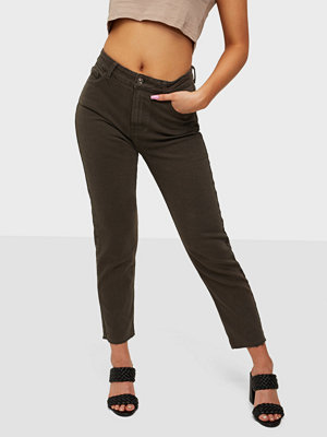 Jeans - Only ONLEMILY LIFE HW ST RAW CRPANK COL