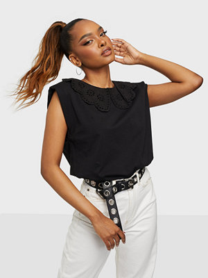 Only ONLPERNILLE S/L COLLAR TOP JRS