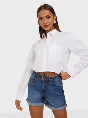 Jeans - Pieces PCPACY LOOSE MW SHORTS MB-VI/NOOS B