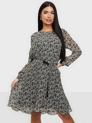 Calvin Klein LS PLISSE DRESS
