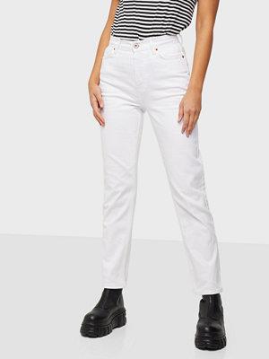 Jeans - Pieces PCTOKYO HW STRAIGHT ANK JEANS-BA BC