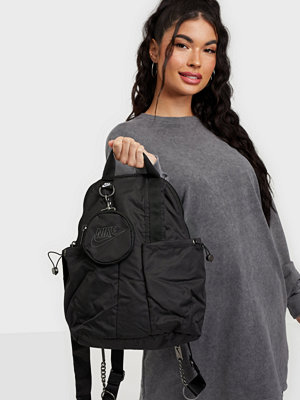 Nike svart väska W NSW FUTURA LUXE MINI BKPK