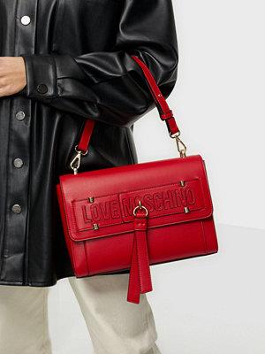 Love Moschino röd väska Casual Mood
