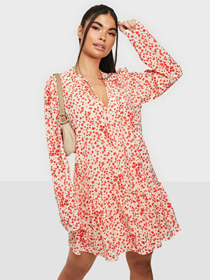 Glamorous Long Sleeve Loose Mini Dress