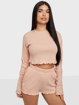 Jumpsuits & playsuits - NLY Trend Frill Edge Shorts Set