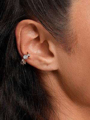 Muli Collection smycke Chunky Zirconia Ear Cuff