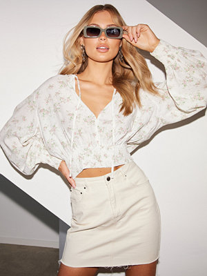 NLY Trend Smock Volume Blouse