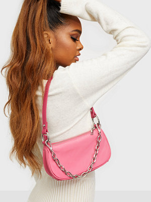 NLY Accessories rosa väska Small Chain Bag