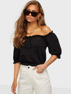 Pieces PCTAYLEE SS CROPPED TOP BC
