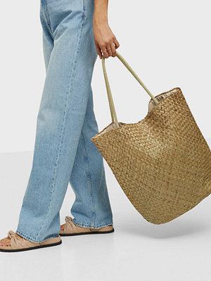 Object Collectors Item omönstrad väska OBJISA STRAW BIG SHOPPER 115