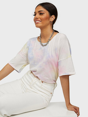 Only ONLZOEY LIFE TIE DYE DNM SS TEE QYT