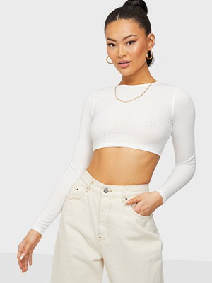 NLY Trend Forever Crop Rib Top